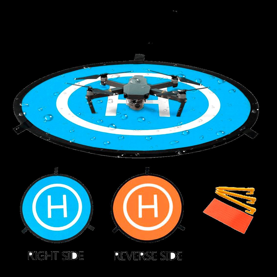 Landing drone