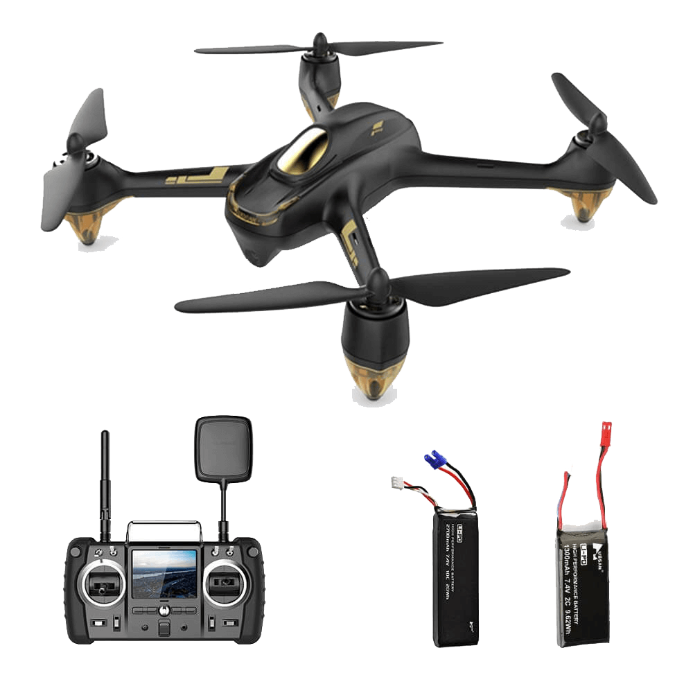 Hubsan-H501S X4 Pro with two batteries