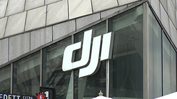 DJI Building And Logo