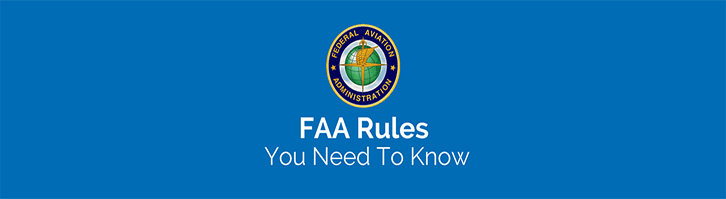 FAA Rules Blue Banner