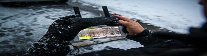 Mavic Pro In Snow