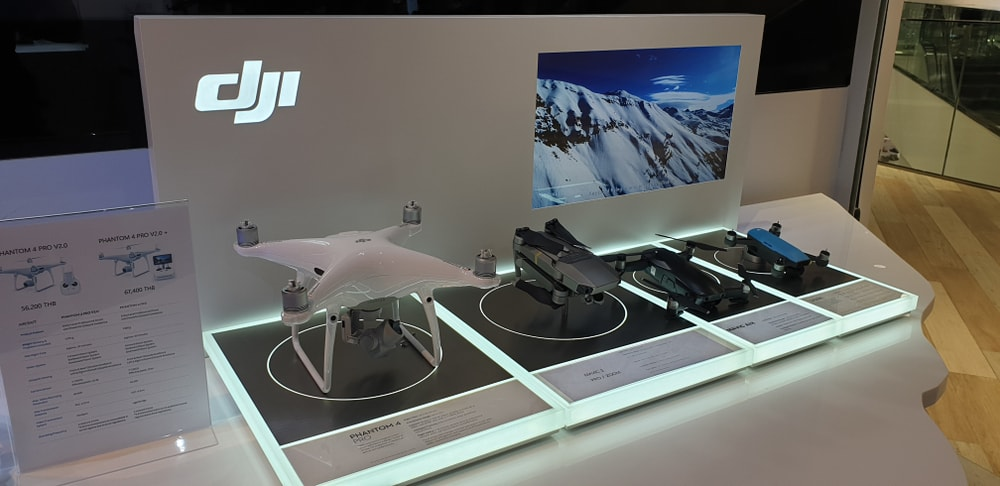 DJI Drones In The Store - Image