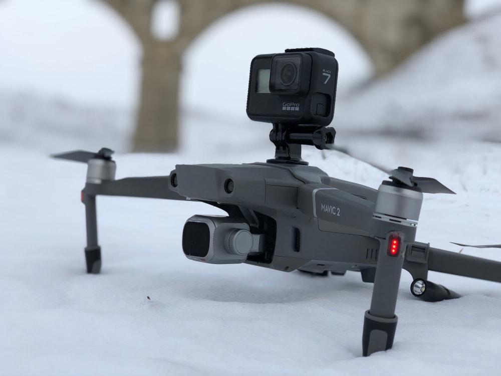 DJI Mavic Pro Flying in snow conditions
