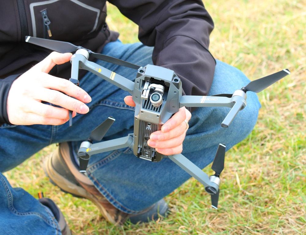 DJI Employ testing DJI Drone